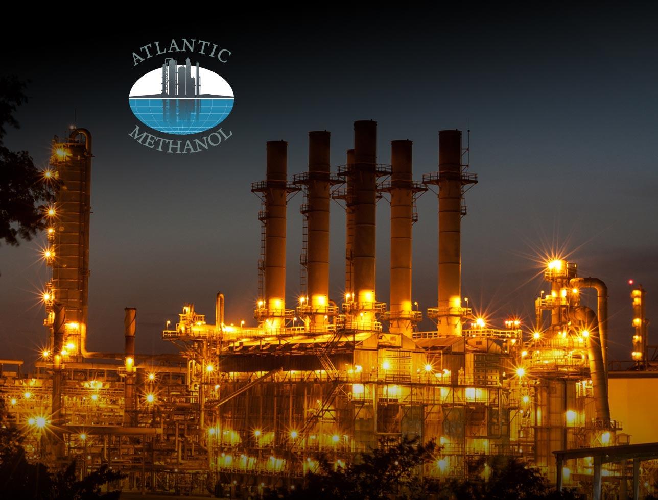 Atlantic Methanol website design