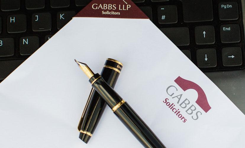 Gabbs Solicitors website design