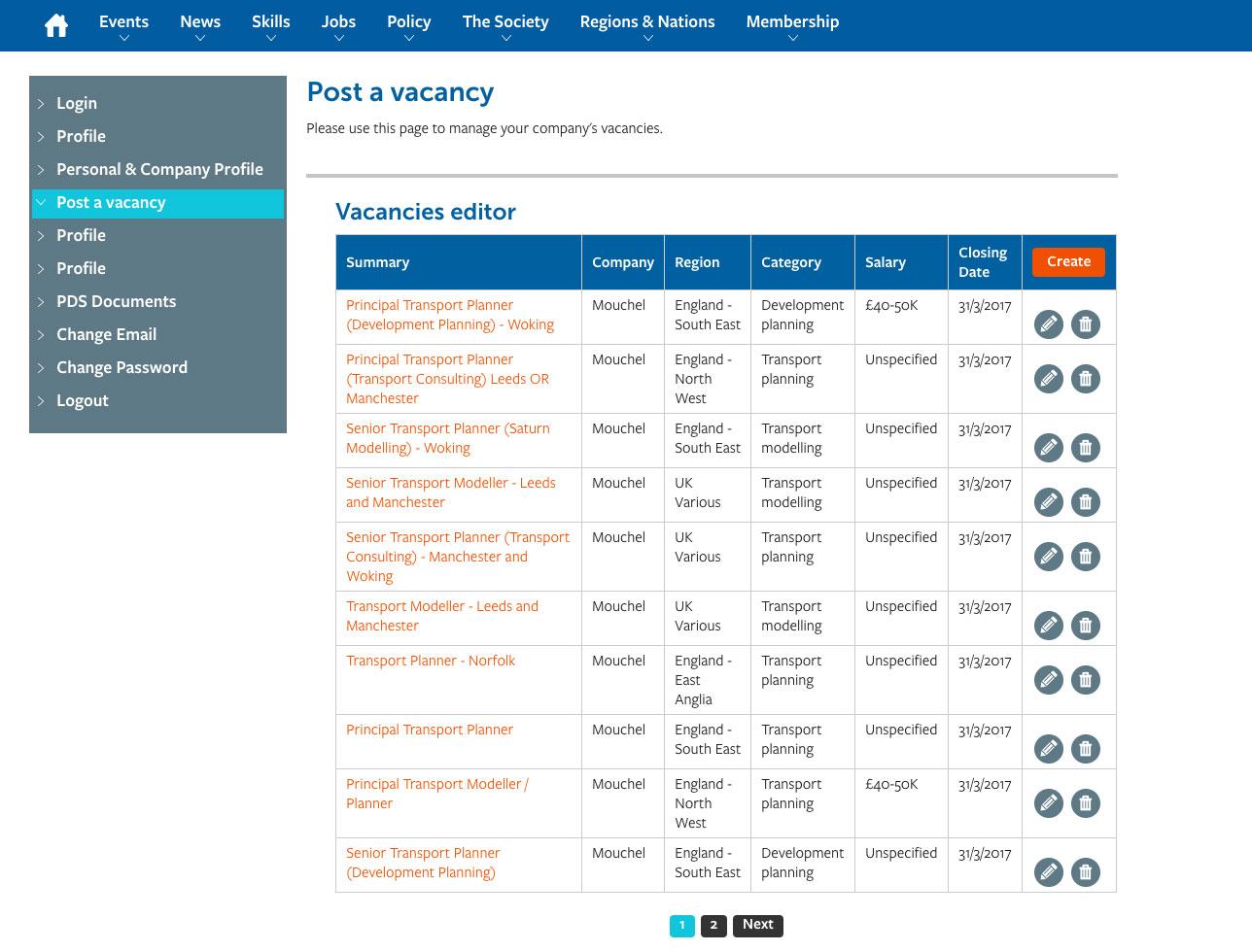 Transport Planning Association