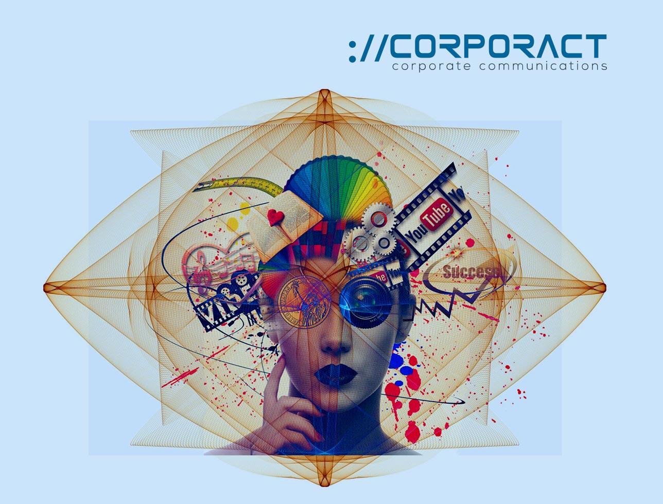 Corporact website design