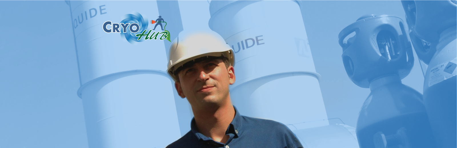 Engineer at refrigeration plant
