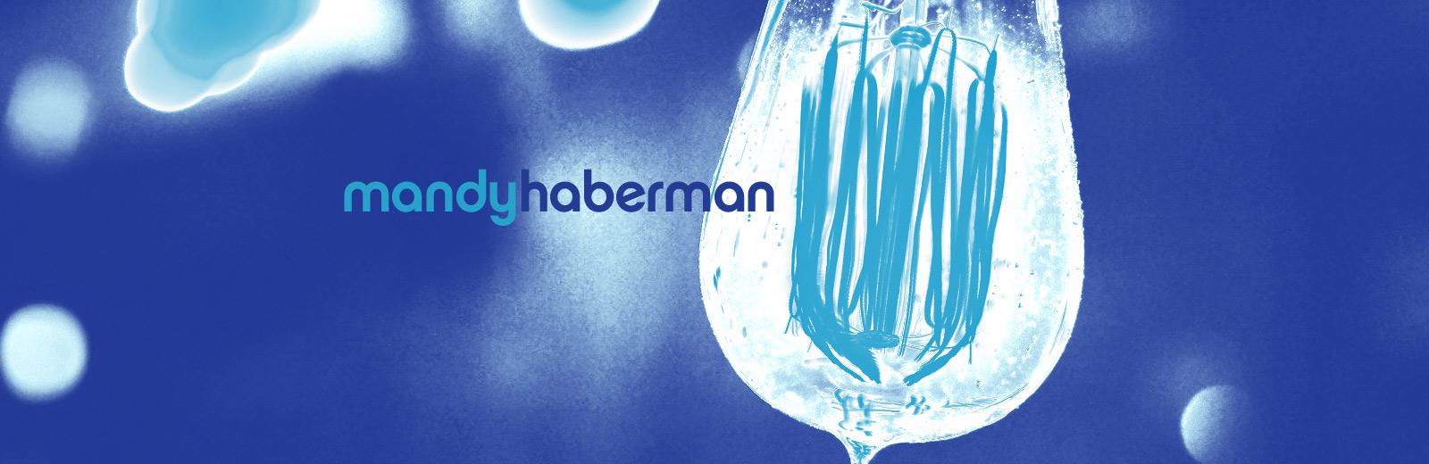 Lightbulb in blue
