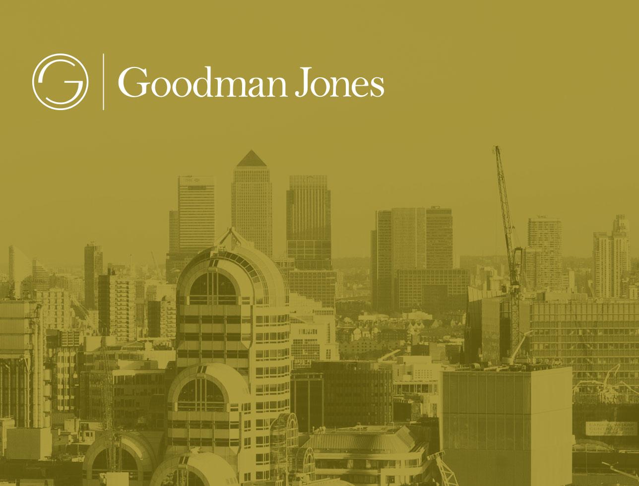 Goodman Jones website design