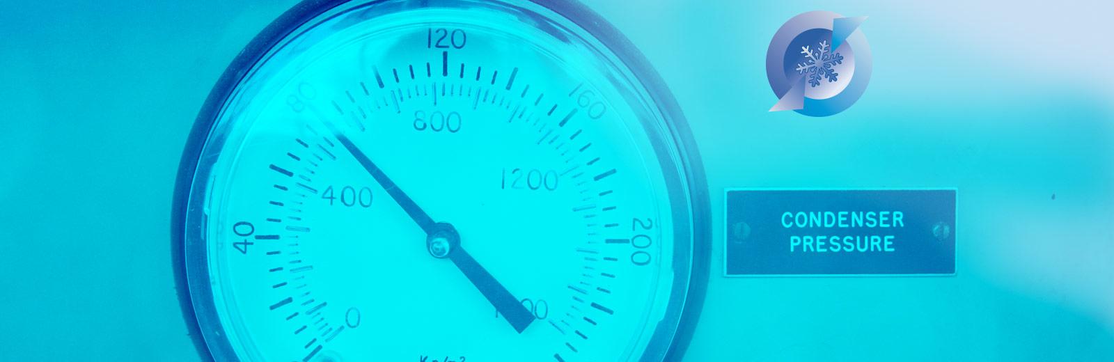 A condenser pressure guage