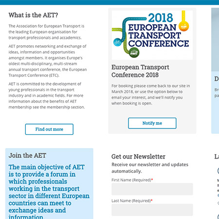 AET conferences and events