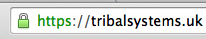 Tribal Systems address in Chrome