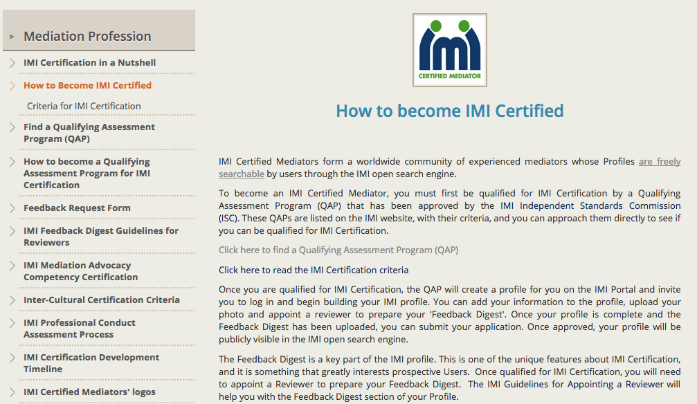 How to become certified